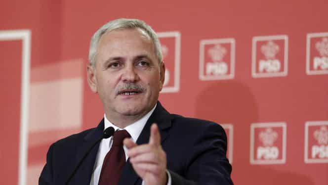 """Liviu Dragnea, discurs plin de ironii la adresa lui Iohannis: """"Miercuri trimitem din nou bugetul leneșului. Poate găseşte pe cineva să-i ia mâna să semneze"""""""