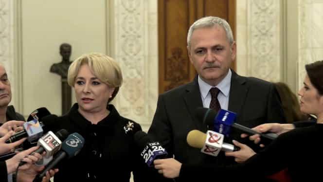 Liviu Dragnea și Viorica Dăncilă și-au făcut cont de Twitter în aceeași zi. Pe cine urmăresc cei doi lideri PSD