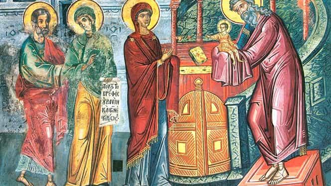 Calendar ortodox 2 februarie: Întâmpinarea Domnului Dumnezeu și Mântuitorului nostru Iisus Hristos