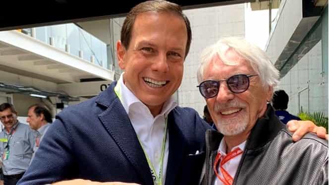Bernie Ecclestone, fostul administrator Formula 1, tată va aproape 90 de ani. Bărbatul mai are 3 fete
