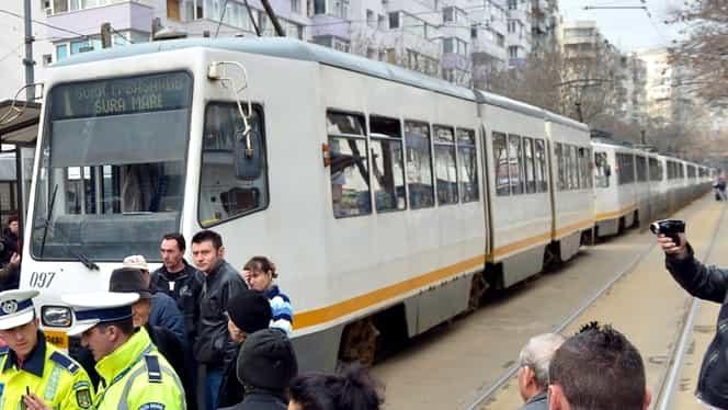 Accident rutier: Două tramvaie s-au ciocnit în Capitală
