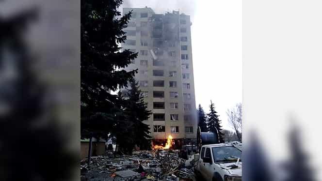 Explozie devastatoare într-un bloc de locuințe din Slovacia. Cel puțin cinci persoane au murit. Video