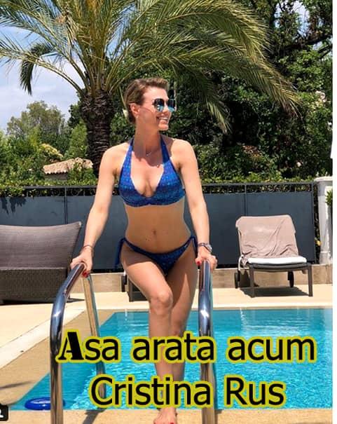 Cum arată Cristina Rus și viața ei departe de showbiz