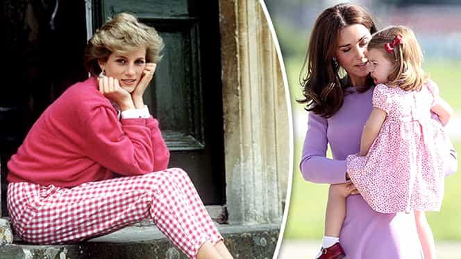 Prinţesa Charlotte, copia fidelă a Prinţesei Diana? Fotografiile care au tulburat Regatul Unit