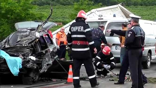 BREAKING Accident cu 3 morţi şi 8 răniţi, lângă Medgidia! A fost activat planul roşu de intervenţie GALERIE FOTO
