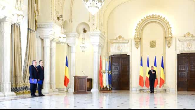 Ministerul Apărării Naţionale şi cel al Economiei, conduceri noi. Ceremonie fără fast la Cotroceni!