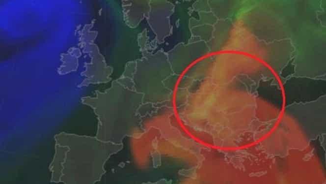 Alertă! Un nor de praf saharian va ajunge în România! Se anunţă temperaturi neobişnuit de calde pentru această perioadă