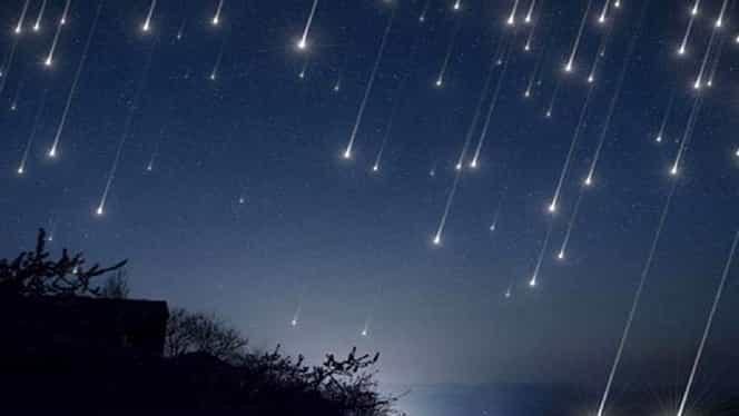 Orionidele, fenomenul spectaculos care se va vedea pe cer. Ploaie de stele pe 21-22 octombrie