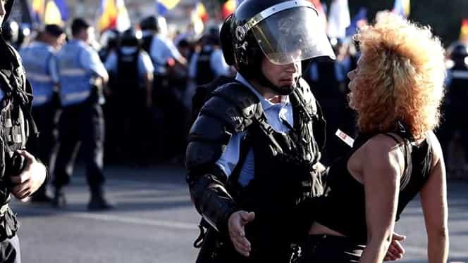 Ea e fata celebră, care a dat piept cu jandarmii, la protestele din 10 august!