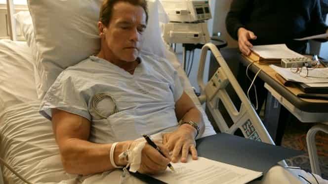 Arnold Schwarzenegger, la un pas de moarte! Actorul, operat de urgenţă pe cord deschis
