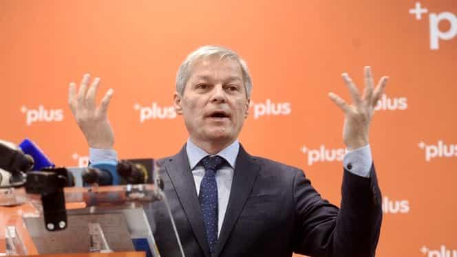 Dacian Cioloş, propunerea de premier a USR-PLUS. Dan Barna a făcut anunţul