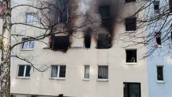 Explozie teribilă în Germania! Zeci de victime după ce un bloc a bubuit
