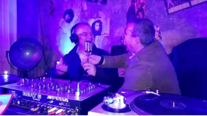 Emil Boc, la platane într-o discotecă! VIDEO