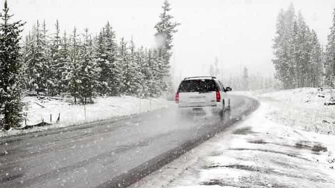 Avertizare meteo. Cod portocaliu de ninsori abundente și viscol în mai multe județe din țară