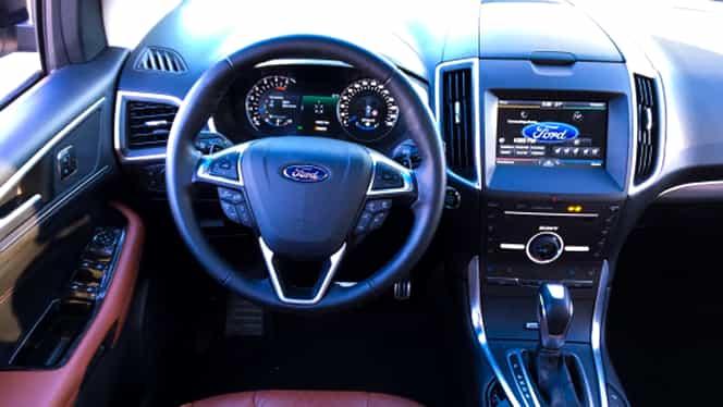 GALERIE FOTO. Americanii de la Ford intră puternic pe piaţa din Europa cu noul SUV Edge