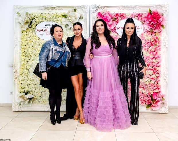 Oana Roman, ce ţinută! Cum s-a îmbrăcat la nunta lui Brigitte şi Florin Pastramă. FOTO