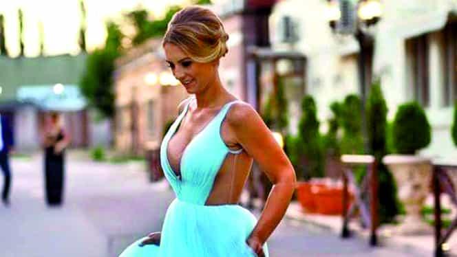 FOTO. Adina, apariţie de infarct! Cum arată soţia lui Alex Bourceanu