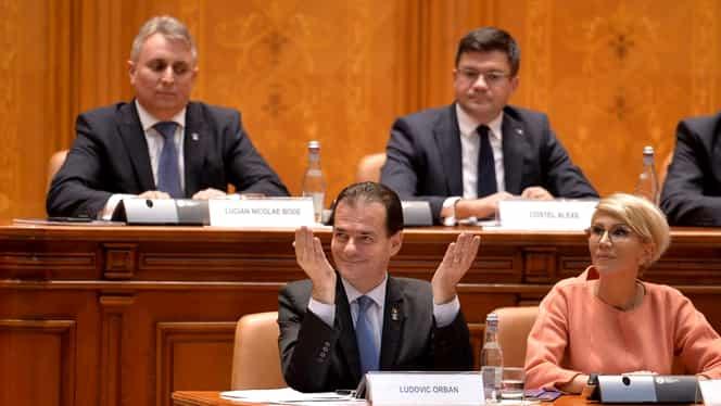 Cum arată noul guvern al României, după ce Ludovic Orban a trecut de Parlament. Lista completă a miniștrilor noului Executiv