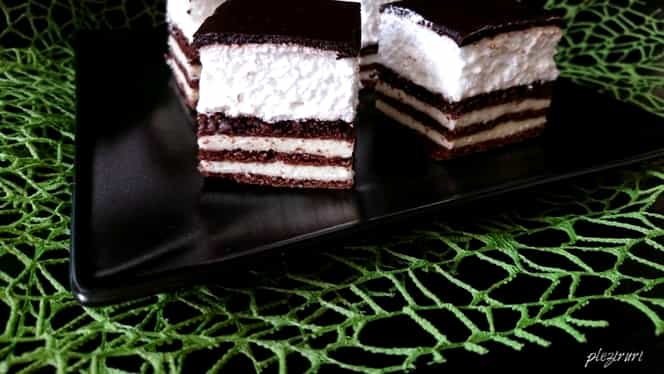 Rețeta zilei. Cum să prepari prăjitura Kiss