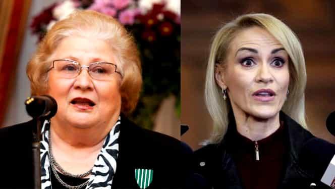 Gabriela Firea a pierdut procesul cu actrița Dorina Lazăr! Primarul Capitalei trebuie să plătească daune morale