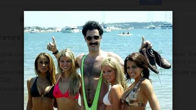 Galerie FOTO. Puţini îşi imaginau că SOŢIA lui Borat arată aşa! Imagini în premieră