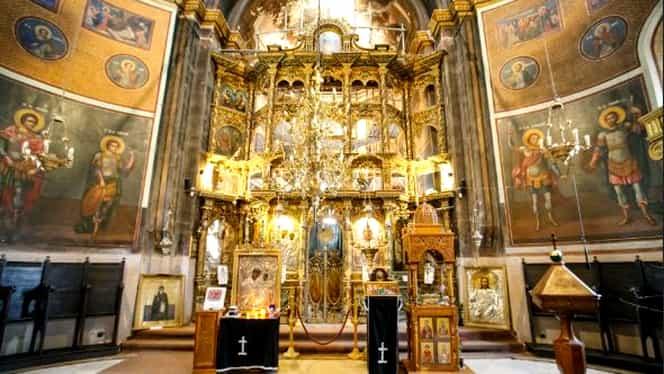 Furt de Revelion! Cutia milei de la Biserica Sf Dumitru din Bucureşti a fost spartă