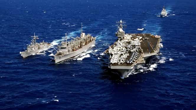 SUA mută navele în Marea Mediterană şi se pregătesc de un conflict direct cu Rusia