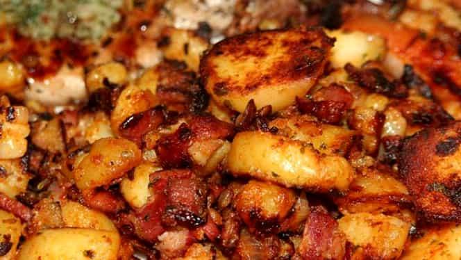 Cartofi țăranești. La cuptor sau prăjiți. 6 rețete gustoase și rapide AICI! VIDEO