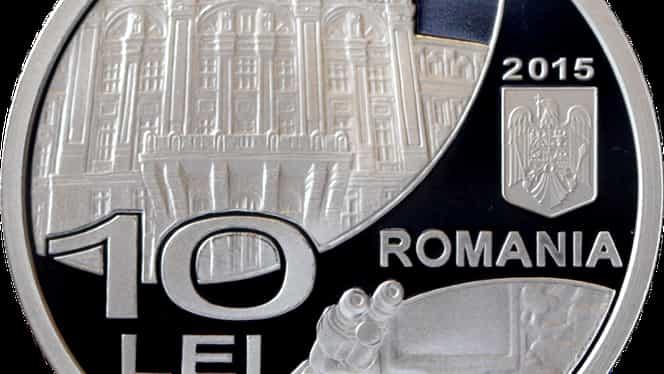 O nouă monedă de argint lansată de BNR