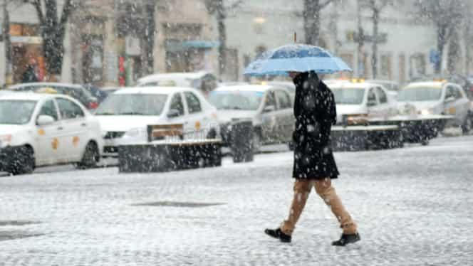 Prognoza meteo 13 decembrie 2019. Cum va fi vremea în București, Brașov, Cluj-Napoca și Iași. Unde va ninge