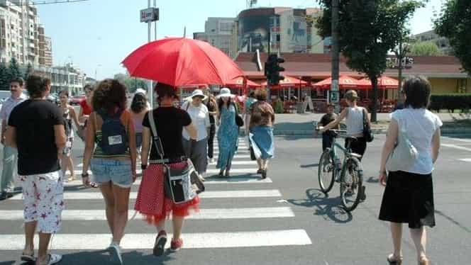 Prognoza meteo sâmbătă, 27 iulie. Vremea în București, Iași, Brașov, Cluj Napoca, și Constanța! Continuă canicula