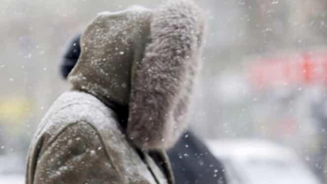 ANM a emis atenționare Cod galben de ninsoare, în mai multe județe! Cum arată prognoza