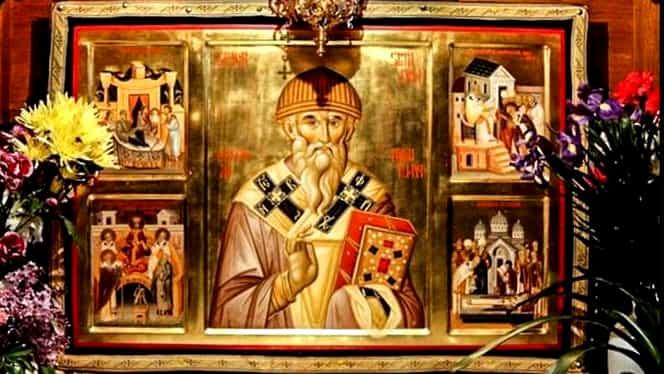 Calendar ortodox: joi, 12 decembrie. Sfântul Spiridon al Trimitundei, dezlegare la pește