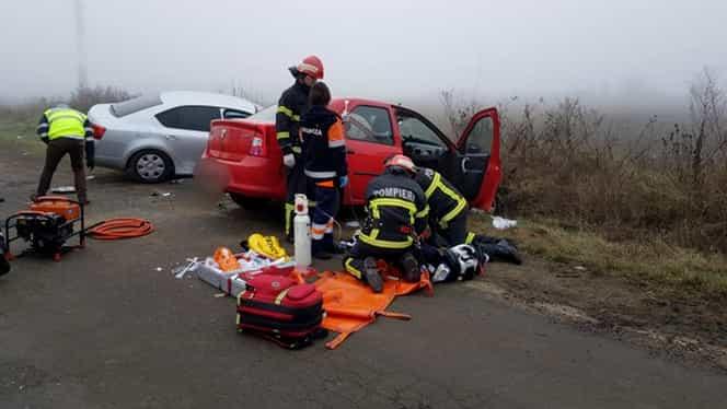 Accident înfiorător în județul Vrancea! Un mort și trei răniți grav în urma impactului