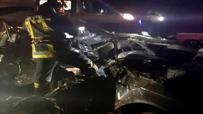 Accident fatal în Suceava! Șoferul aproape că zbura pe șosea cu o mașină cu volan pe dreapta