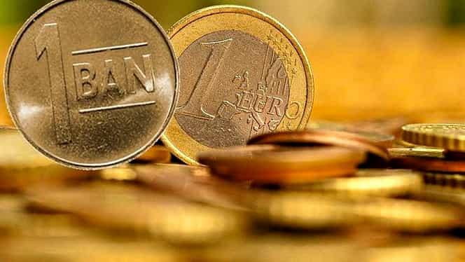 Curs valutar BNR azi, 22 noiembrie 2018. Euro a scăzut!