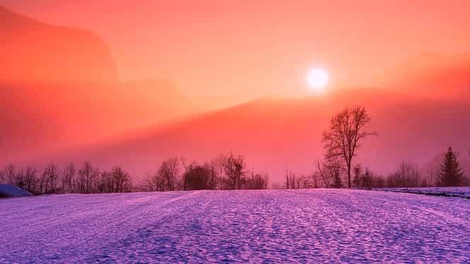 Prognoza meteo duminică, 30 decembrie! Ce temperaturi se înregistrează în București, Brașov și Constanța