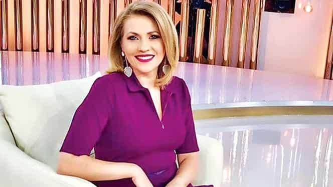 Cum a apărut Mirela Vaida la Eurovision, însărcinată în 7 luni. FOTO