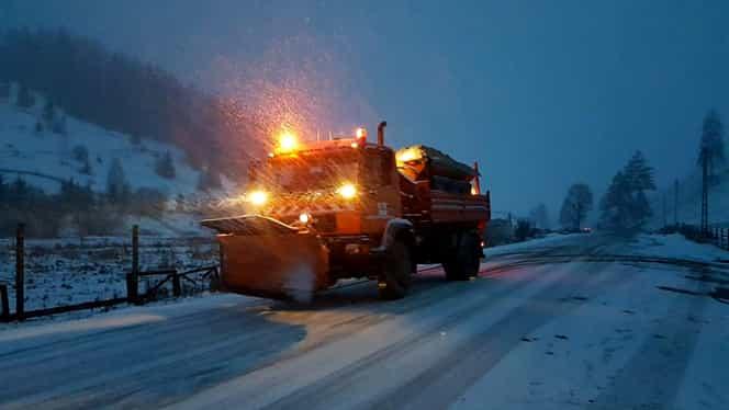 INFOTRAFIC 7 ianuarie, starea drumurilor: patru șosele închise din cauza vremii