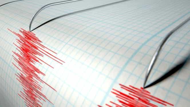 Un nou cutremur de 4,3 grade pe scara Richter în zona Vrancea
