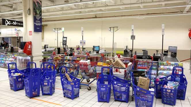 """Primul supermarket care plafonează preţurile: """"Intră în calcul 500 de produse esenţiale, până la Paşte!"""""""