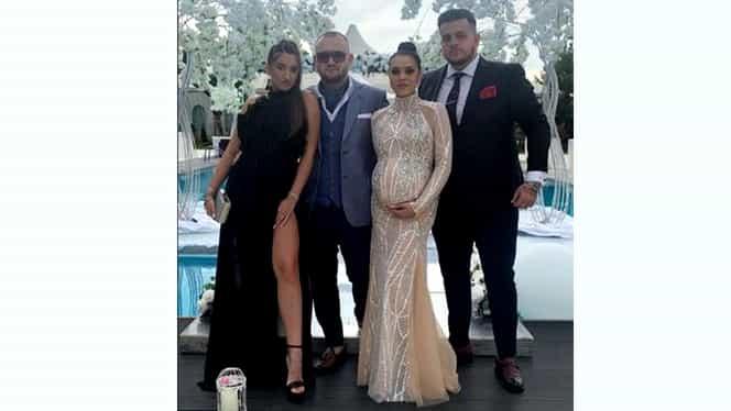 Cum s-a îmbrăcat nevasta lui Adi Minune la nunta fiicei sale. Rochia acesteia a fost în centrul atenției