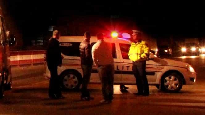 Un șofer băut a lovit patru mașini în Capitală! A fost încolțit de două ori de polițiști