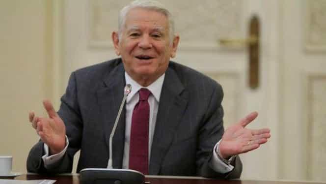 Teodor Meleșcanu a demisionat din funcția de președinte al Senatului