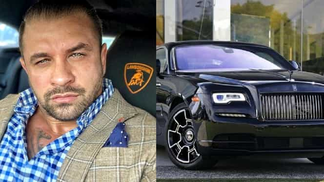 """""""Navetă"""" de 400.000 de euro. Alex Bodi conduce prin București o mașină atât de rară încât Bianca rămâne impresionată de fiecare dată"""