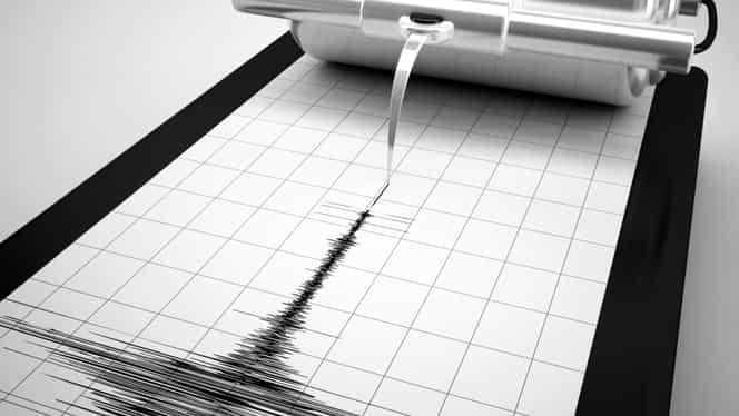 Cutremur în Vrancea, miercuri, 7 noiembrie! Ce magnitudine a avut