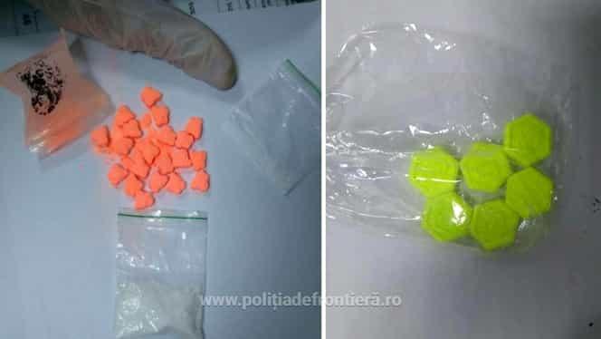 Șapte bărbați străini au fost prinși cu droguri de mare risc pe Aeroportul din Cluj-Napoca