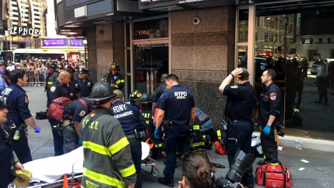 Suspiciuni de terorism la New York! A intrat cu maşina în mulţime, o persoană a murit pe loc!