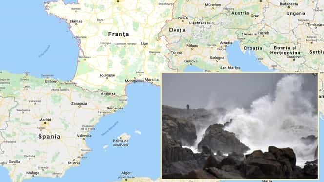Avertizare de călătorie de la MAE: Cod roșu de furtună în Franța. Europa, sub furia naturii