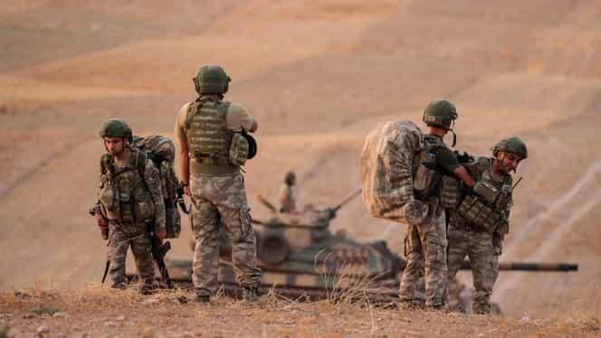 """Donald Trump se laudă că a reușit să facă pace între Turcia și kurzi: """"Acest rezultat este creat de noi"""""""